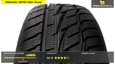 Matador MP92 Sibir Snow FR XL